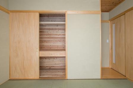 16.和室の収納には秘密の引き出しが付いています。