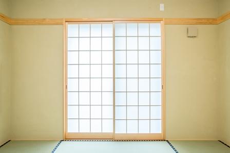 19.和室の壁はY様夫婦が仕上げ、ここに大切な思い出が刻まれました。